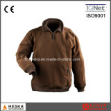 Hot Selling Rib Collar Mens Polar Fleece Jacket