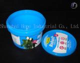 na etiqueta do molde para cubetas plásticas com alta qualidade