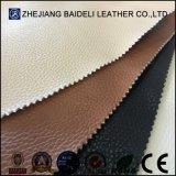 Het uitstekende kwaliteit In reliëf gemaakte Synthetische Leer van pvc Microfiber voor de Stoffering van Furnitre van de Bank