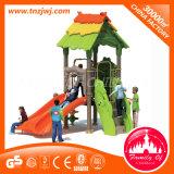 Le design de mode Terrain de jeux de plein air en plastique fixé pour les enfants