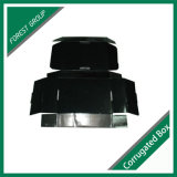 Vollständiger schwarzer Farben-Querbinder-Ablagekasten