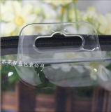 Promotion de la PVC écologique Sac avec fermeture éclair en nylon