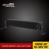 20pouces cris 108W Super Bright Light Bar 4X4