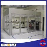 ISO filtro de aire de limpieza de la cabina, la clase 100 de sala limpia, libre de polvo para salas blancas