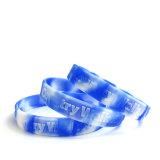 Promozione impressa dei braccialetti dei Wristbands del silicone