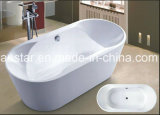 vasca da bagno moderna di ellisse di 1700mm (AT-6107)