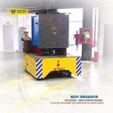 Bogie transporte motorizado eléctrico no piso de cimento