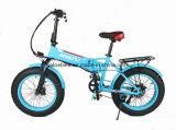 20 인치 뚱뚱한 타이어 전기 접히는 자전거
