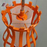 食堂のための現代オレンジ空ボディペンダント灯