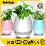 Altoparlante astuto di Bluetooth del sensore di tocco del Flowerpot di musica di Bluetooth LED