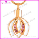 Cremated Remains Jewelry Crown Pendant com cristais Ijd9713