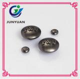 Кнопки металла воинскими подгонянные кнопками для куртки Jean пальто