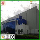 Construction préfabriquée de structure métallique de fournisseur d'usine avec le mur rideau en verre