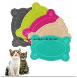 Eco-Friendly 애완 동물 화장실 매트 고양이 배설용상자 매트 애완 동물 사발 매트