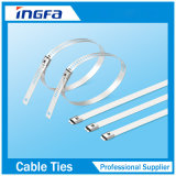 管の固定のための光沢が無いステンレス鋼マルチロックケーブルのタイ