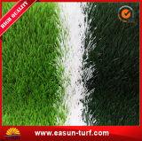 Hierba artificial china del PE del fútbol material colorido del balompié