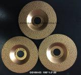 El vacío cubrió con bronce el diamante que el corte seco consideró la lámina para el granito vetear el acero del azulejo