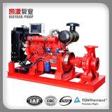 Pomp van het Water van de Dieselmotor van Xbc de Horizontale Meertrappige voor Brand