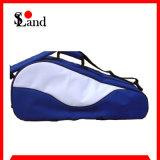 Sacola de raquete de tênis com saco de dupla de duas camadas personalizado