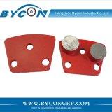 Bycon具体的な床のための二重ヘッドダイヤモンドの粉砕の靴