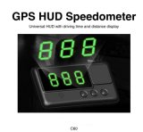 C60 GPS van Hud van de Auto de HoofdSnelheidsmeter van het Systeem van het Alarm van de Techniek van het Windscherm van het Alarm van de Overdreven snelheid van Km van de Vertoning/H MPU