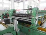 Fabricante de placa fina automática que raja la línea de la máquina el rebobinar
