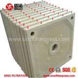 Cadre de plaque automatique Filtre presse avec Caché / Open Filtrat