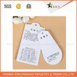 Modifica di caduta di stampa del contrassegno stampata modifiche su ordinazione dell'autoadesivo del panno dell'indumento