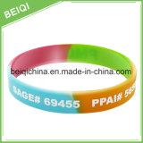La maggior parte del Wristband di pubblicità popolare del silicone per il regalo promozionale