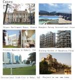 Le marché de l'Asie du Sud-Est Les profils de fenêtres Vinyl / UPVC populaires Europen Style Formula