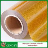 Vinilo del traspaso térmico del brillo DIY de la calidad de la ropa de Qingyi el mejor para la ropa