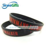 Farben-Kontrast-Sprung-heißer Verkaufs-preiswerte Silikon-Armbänder für Jugend