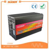Inversor da potência de Suoer 24V 1500W Soalr com Ce&RoHS (HAD-1500B)