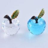 Kleine 40mm facettierten Kristallglas Apple für Papiergewicht