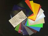 Astilla y flexible de poliuretano Cuttable Vinilo Flex para el sector textil