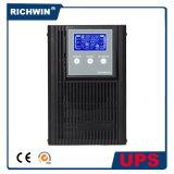 UPS en línea de alta frecuencia de seno 3kVA de la onda de la conversión pura del doble