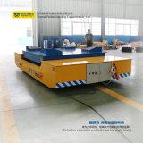 L Shape Railway Truck Transport de transport de matériel avec table de levage