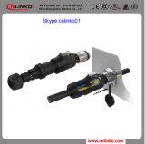 Gemaakt in China IP 65 Schakelaar 2 van de Uitrusting van de Draad Stop van het Geslacht van de Speld de Mannelijke voor de Apparatuur van de Macht