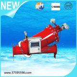 가득 차있는 자동적인 반전 세척 필터 기계 중국제
