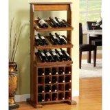 Multi armadio del guardaroba della cremagliera del vino della mobilia di legno di legno classica del Governo