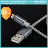Cabo de dados cobrando rápido de nylon novo do USB 8pin para o iPhone