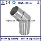 Flush Joiner Coude de tube de 135 degrés pour main courante en acier inoxydable