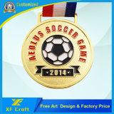 L'abitudine professionale della fabbrica mette in mostra il medaglione dell'oro per la riunione di sport