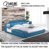 Самая последняя кровать кожи конструкции 2017 для комплекта спальни (FB8152)