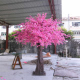 Árvore de cereja artificial cor-de-rosa e branca High-Class