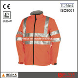 Hivis Softshell Jacket impermeável e respirável