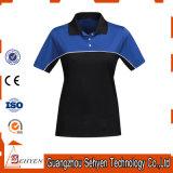 Normale Frauen-Eignung-Abnützung Sports Polo-T-Shirt