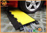 5 canaux à usage intensif Protecteur de câble en caoutchouc de plancher pour les événements