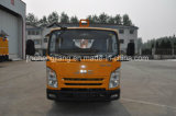 障壁のポストのインストールのための油圧杭打ち機が付いているガードレールのポストドライバートラック