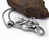 Roestvrij staal van de Toebehoren van de Manier van de Tegenhanger van de Halsband van de draak het Unisex-316L